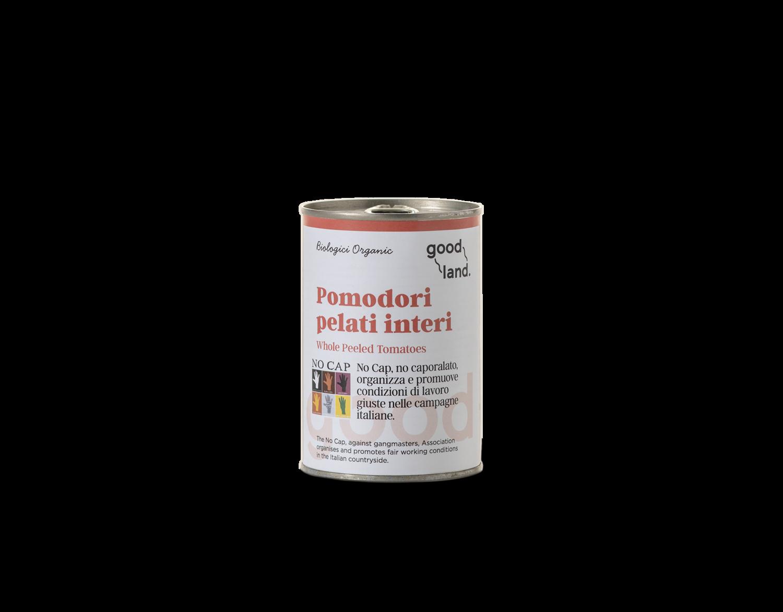 Pomodori pelati interi bio No Cap 400 gr- Good Land
