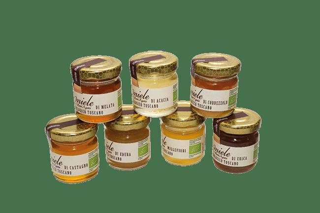 Miele biologico toscano Sant'Agata - gr 100