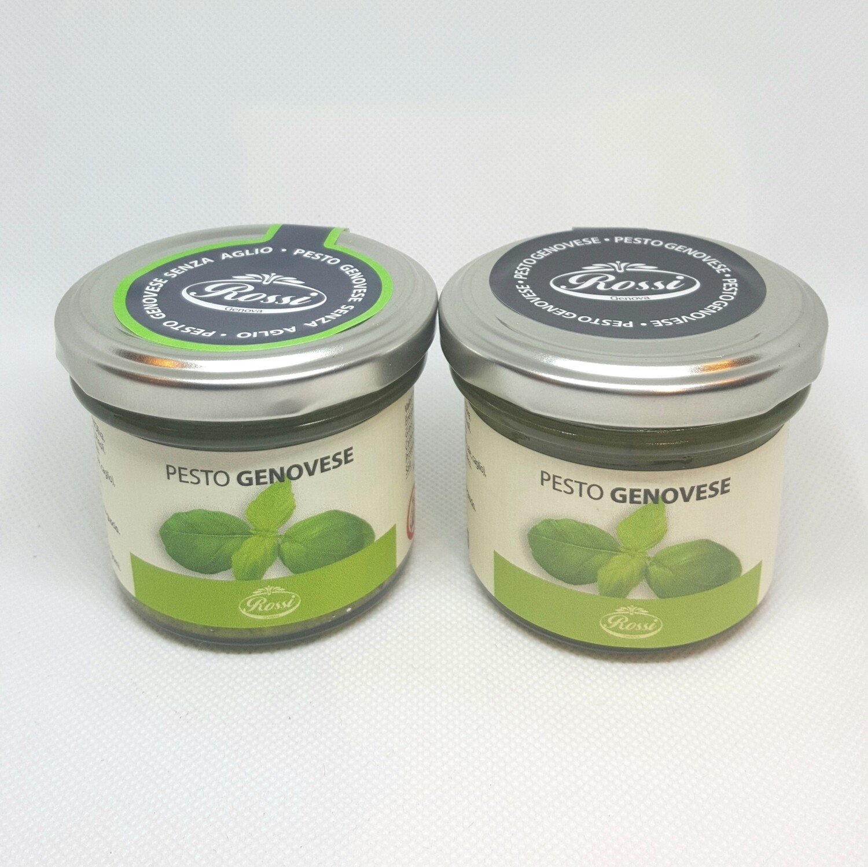 Pesto genovese con basilico ligure DOP 85 gr