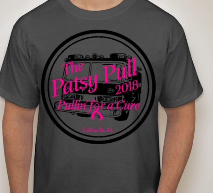 2018 Patsy Pull Breast Cancer Event Shirt