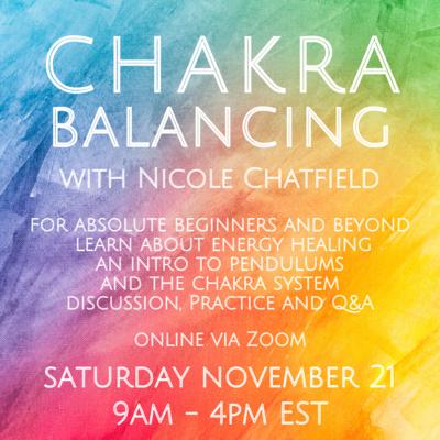 Chakra Balancing November 21