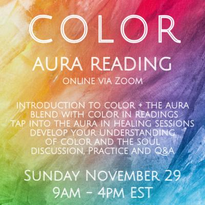 Color + Aura Reading November 29
