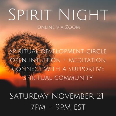 Spirit Night November 21