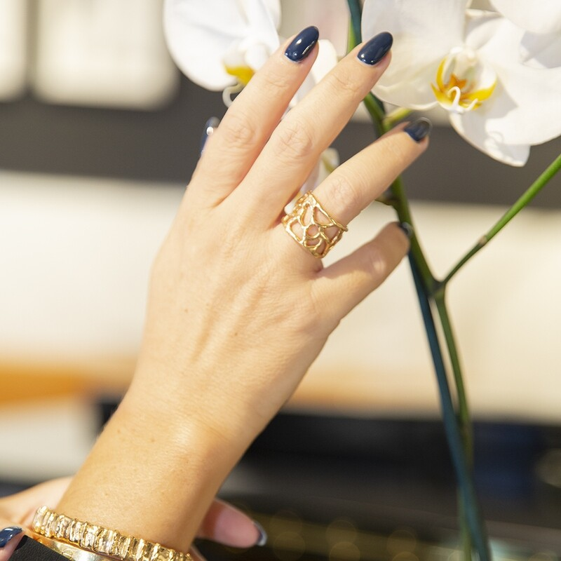 Anello Africa - Giulia Barela Jewelry