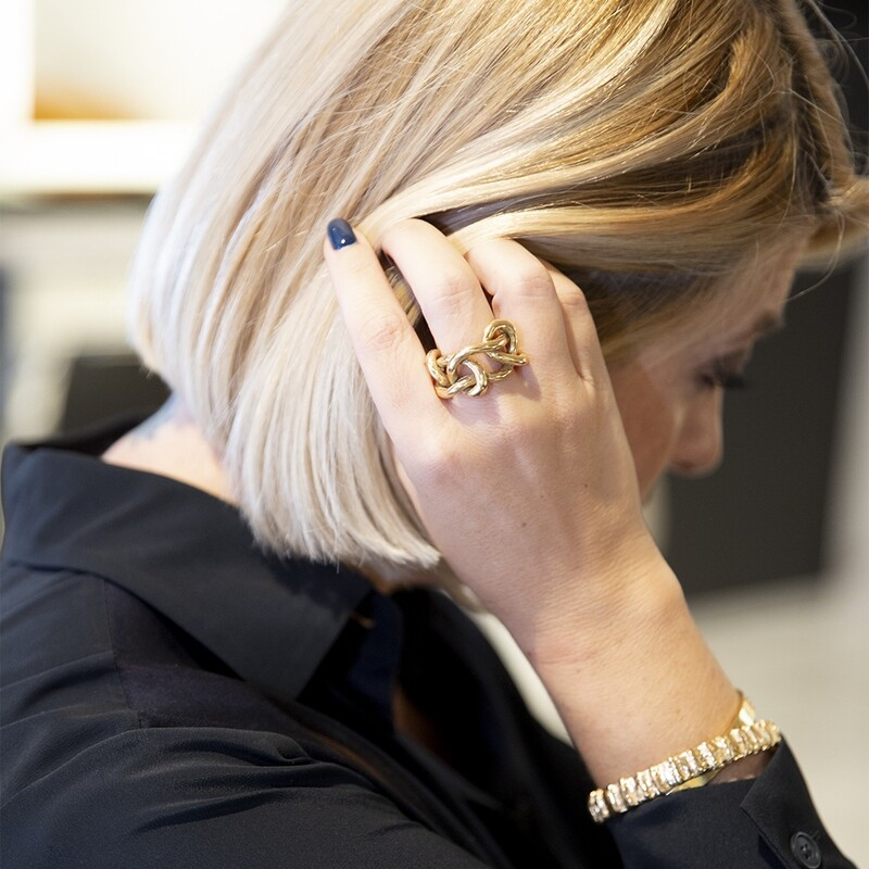 Anello Knot Big - Giulia Barela Jewelry