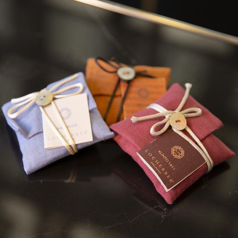 Tris Sacchetti Deluxe profuma biancheria - Kessence Boutique