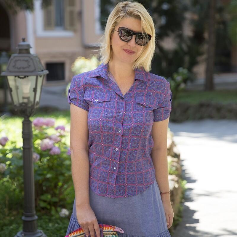 Camicia Violet - Luluredgrove