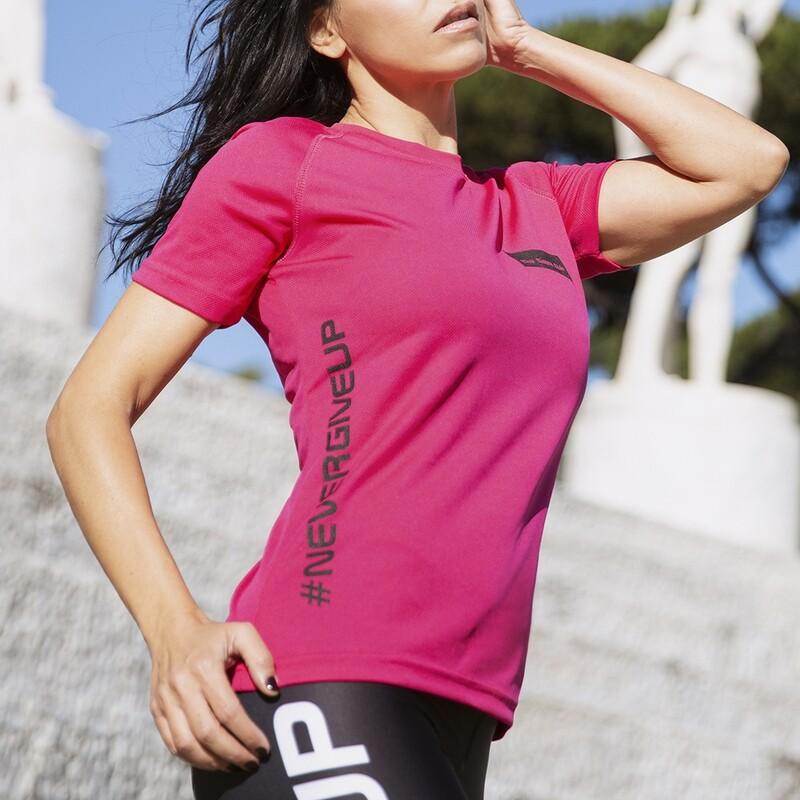T-Shirt Donna Run Pink