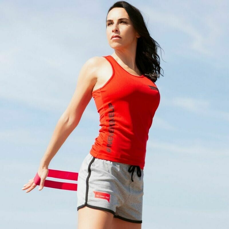 Canotta Fitness Red