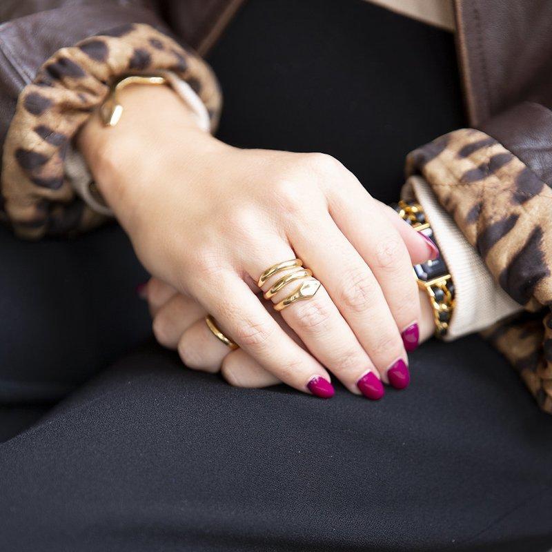 Anello Coil Double - Giulia Barela Jewelry