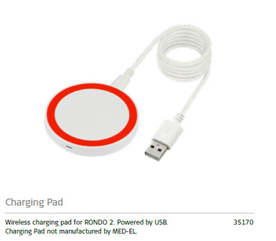 CHARGING PAD FOR RONDO 2 / MED-35170