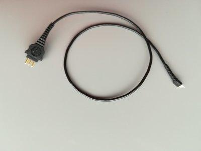 COMT+ Coil Cable 28cm (black) Καλώδιο Πομπού για Κοχλ. Εμφύτευμα