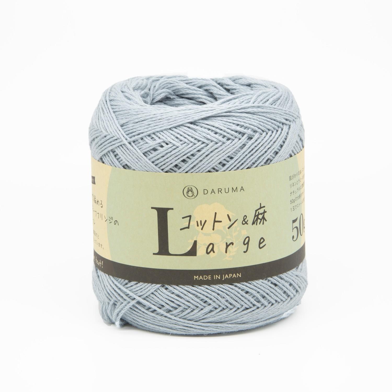 cotton & linen large голубой (13)