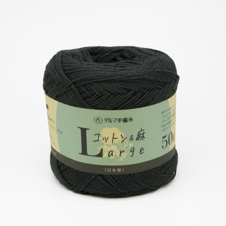 cotton & linen large черно-зеленый (15)