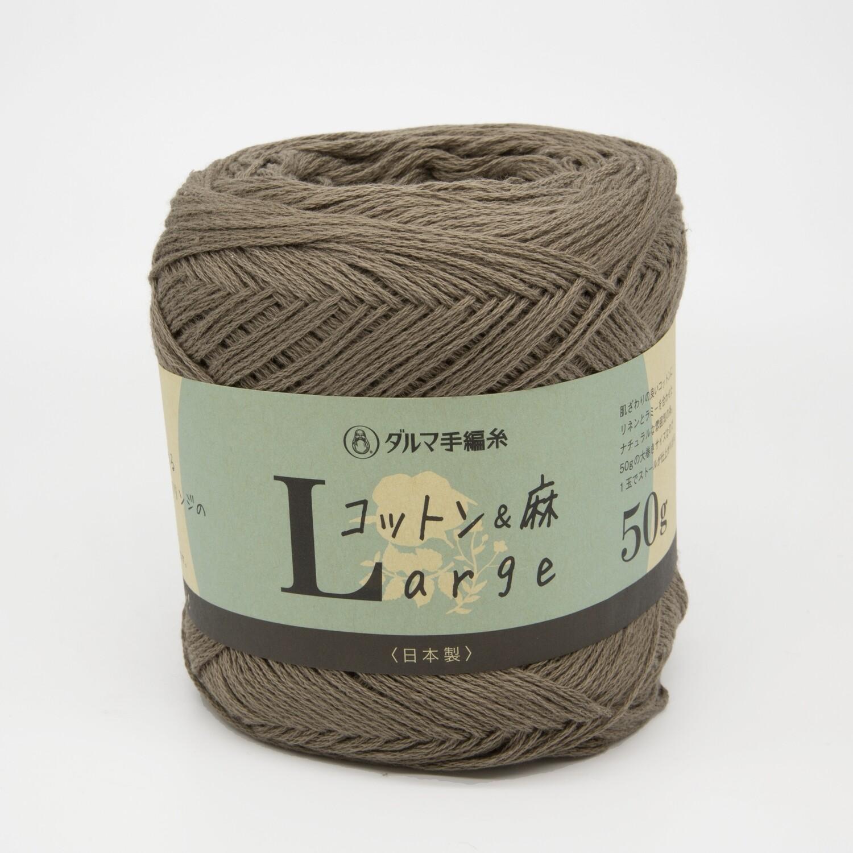 cotton & linen large коричневый (8)