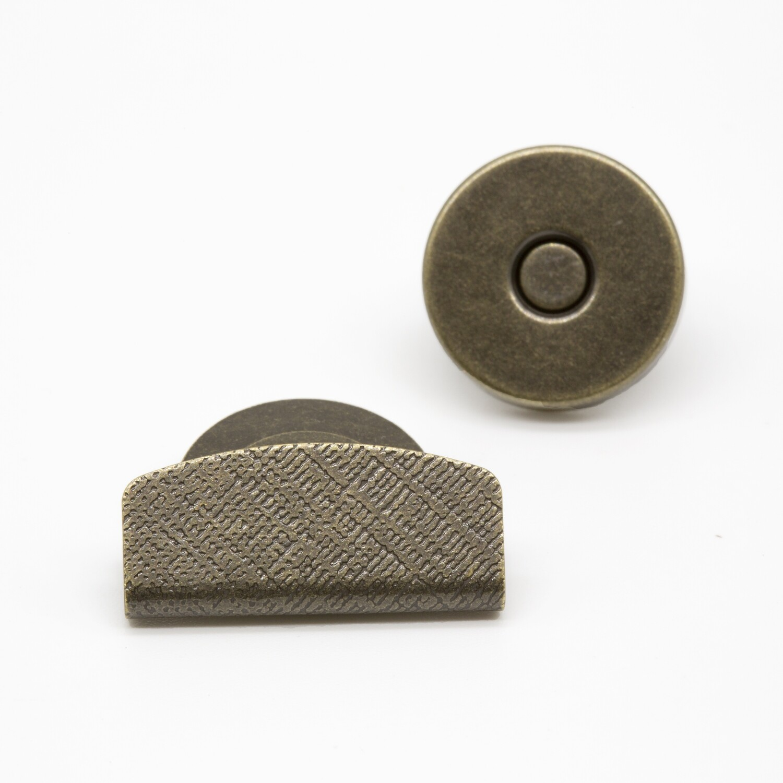 магнитная кнопка для клапана сумки