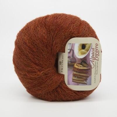 alpaca leggero теплый красный 13