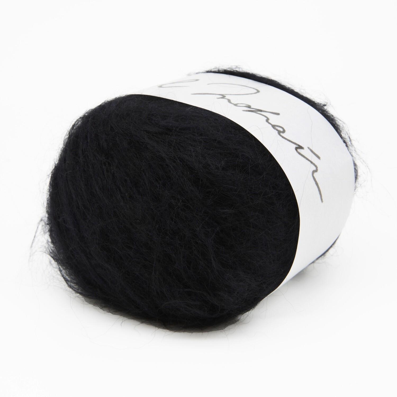 wool mohair черный 7
