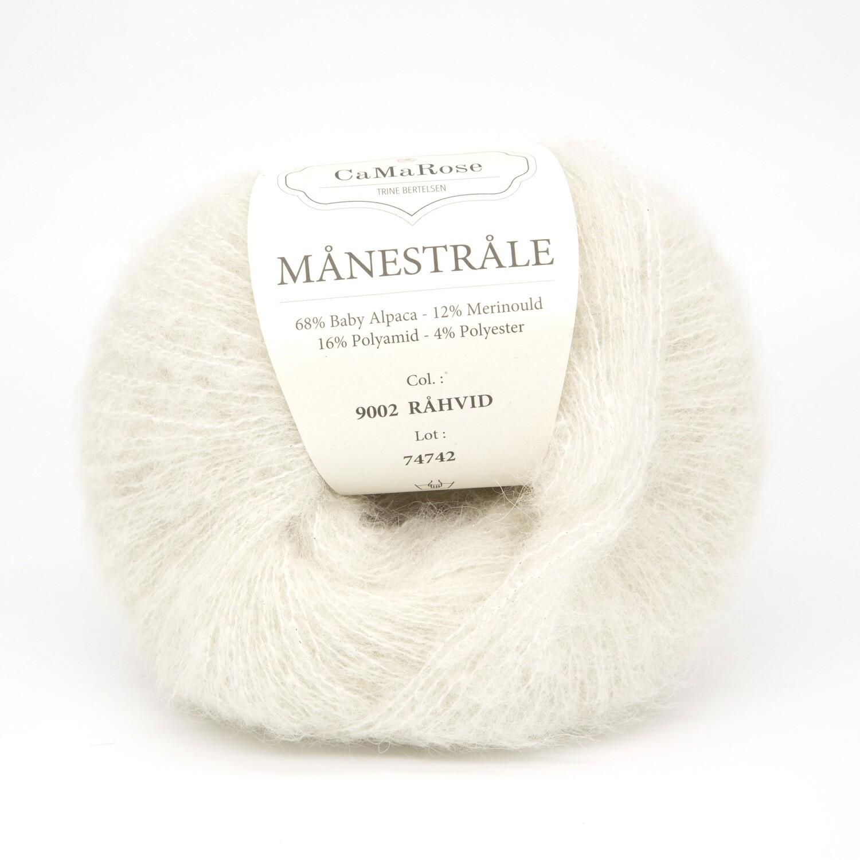 manestrale натуральный белый 9002