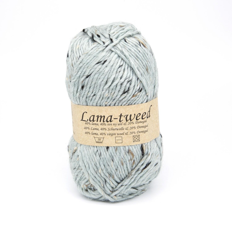 lama tweed мята 6462