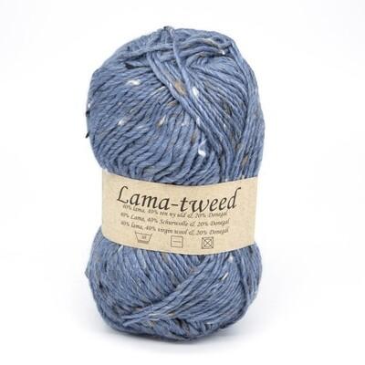 lama tweed синий 6456