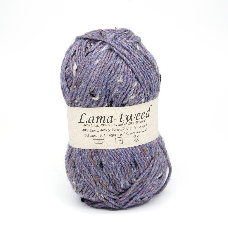 lama tweed лиловый 6466