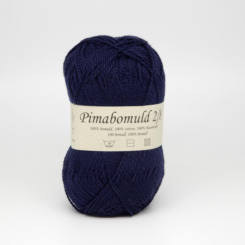 pima bomuld синий темный 3470
