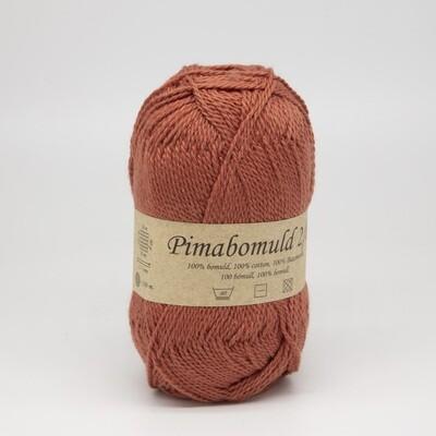 pima bomuld коралловый темный 3450