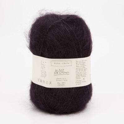 silk & mohair dark burgundy grey тёмно-серый бургунди