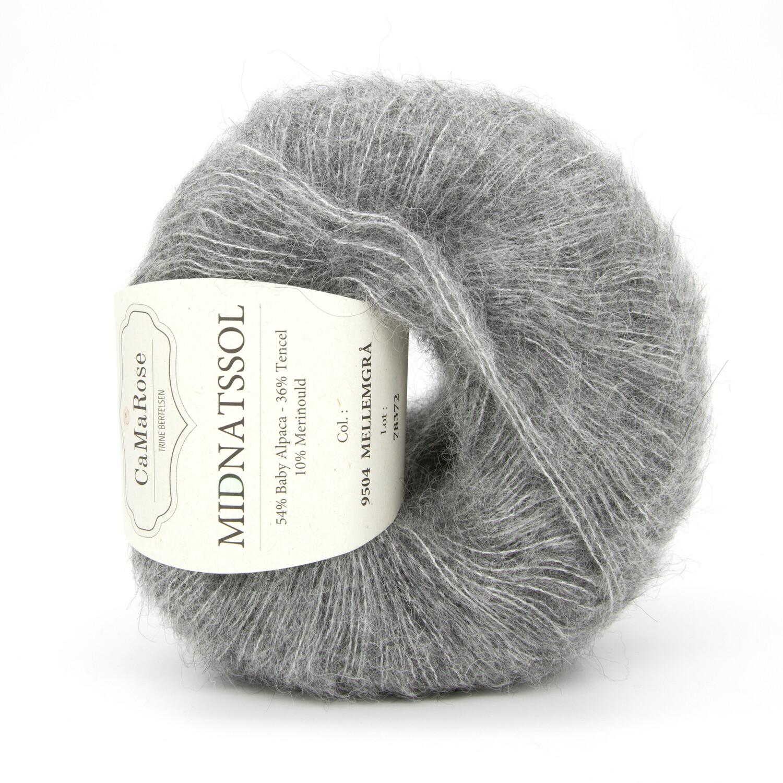 midnatssol средний серый 9504