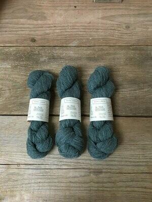 le petit lambswool blue green