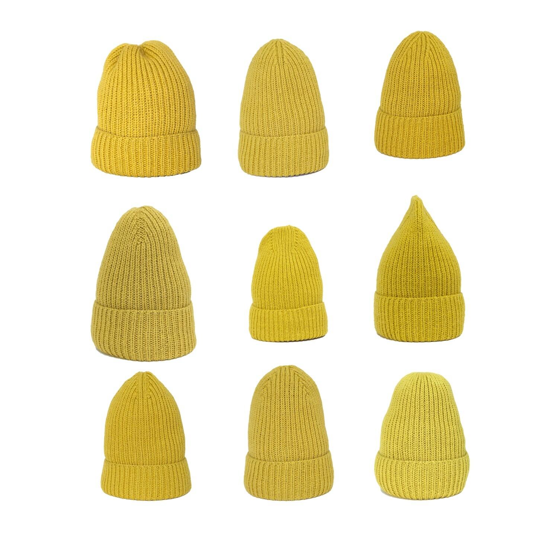 12 шапок резинкой 1*1 PDF