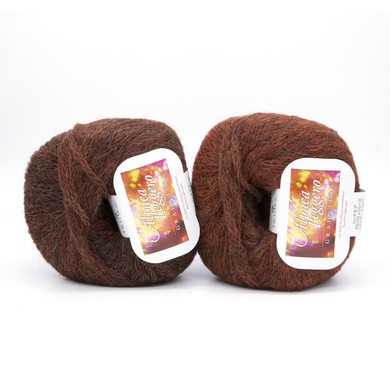 alpaca leggero рыжий/кирпичный 101