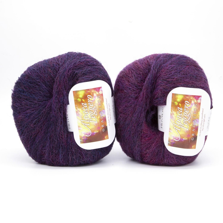 alpaca leggero фуксия/фиолетовый 107