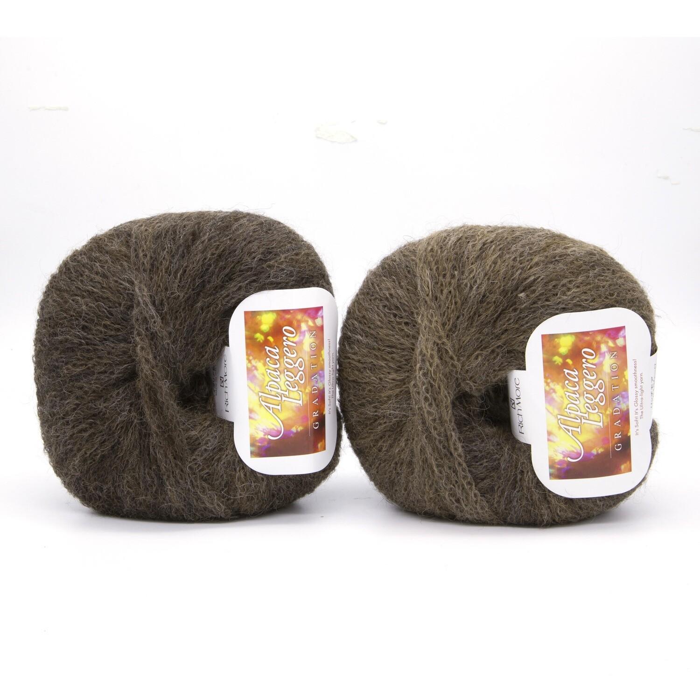 alpaca leggero коричневый светлый/темный 104
