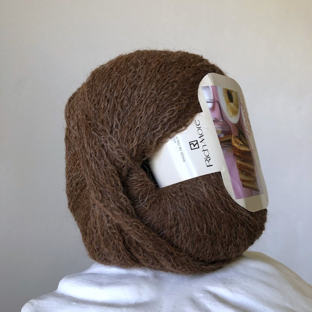 alpaca leggero коричневый 07
