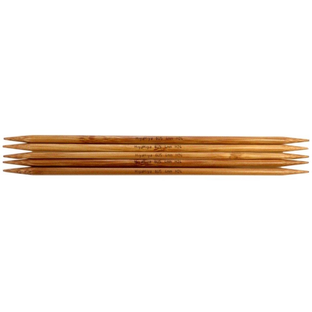 чулочные спицы бамбук 12,5 см