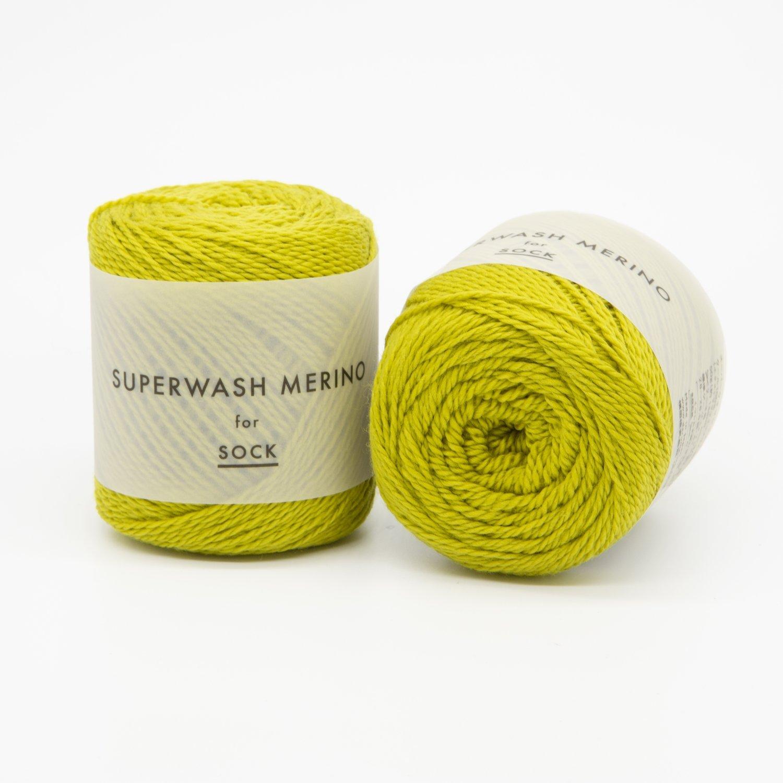 superwash merino желтый 02
