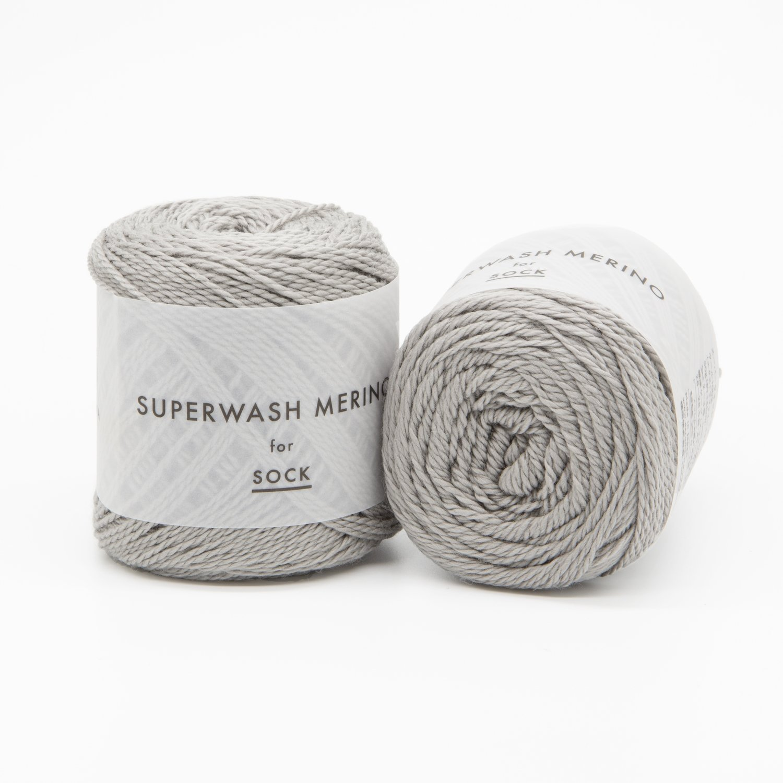 superwash merino серый 08