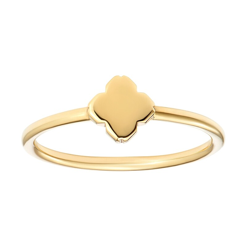 Ame Gold Ring
