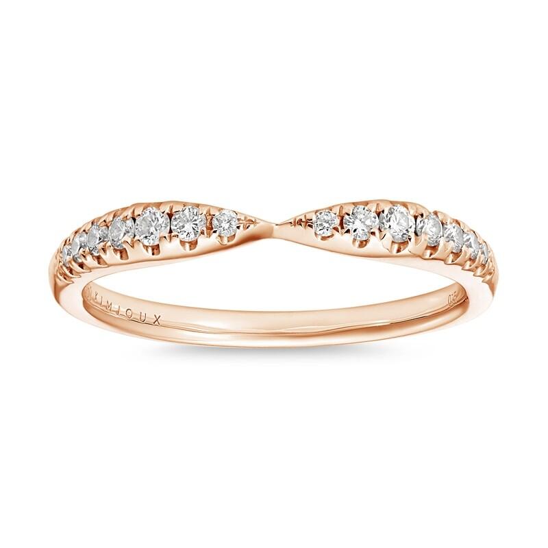 Kiss Me Diamond Ring