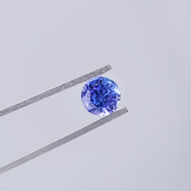 TANZANITE 1.36CT ROUND CUT