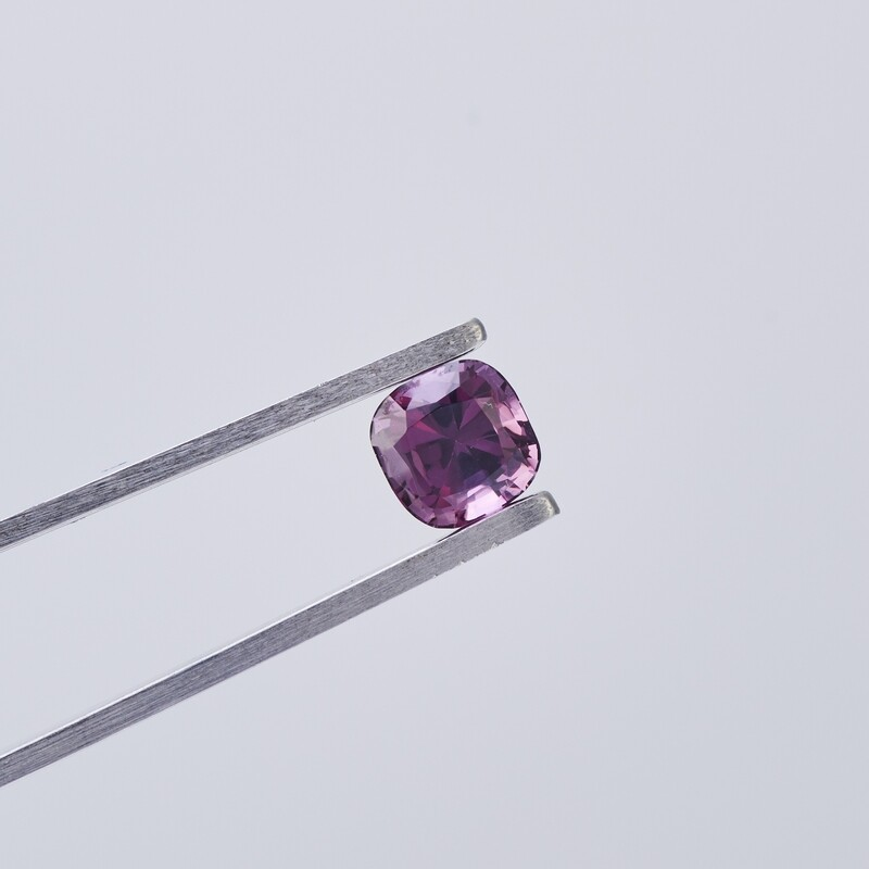 PURPLE SPINEL 1.18CT CUSHION CUT
