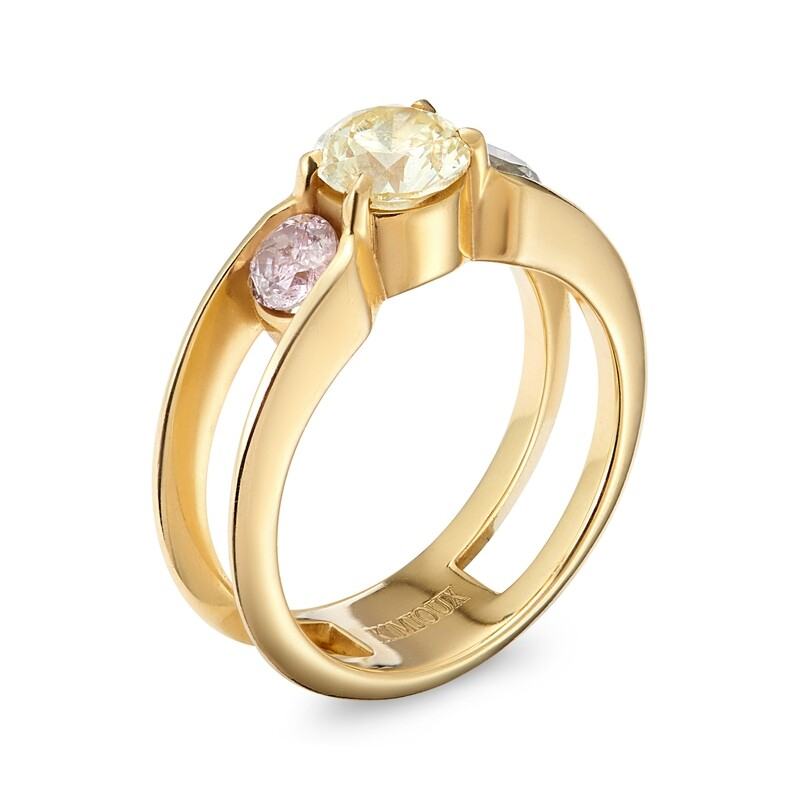 Iris Ring - Mount & Side Stones Only