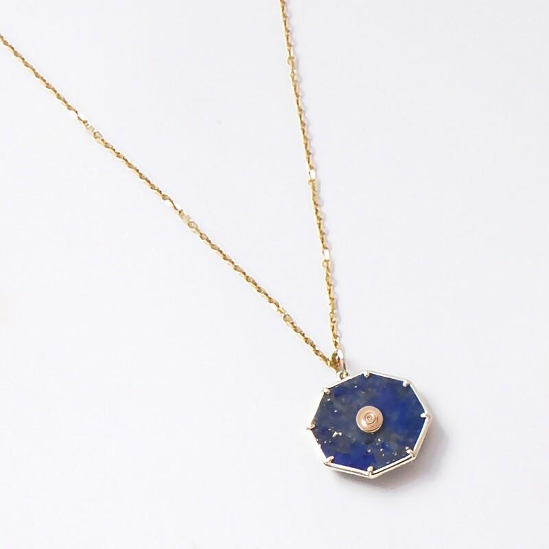 Kore Lapis Lazuli Pendant Charm