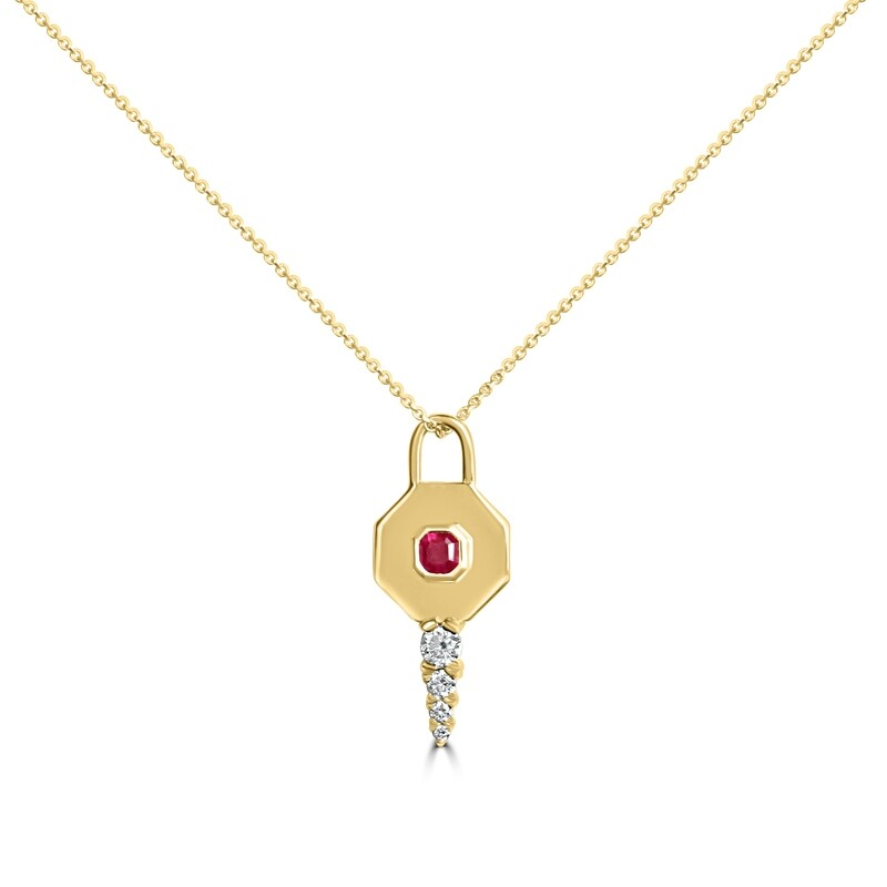 Key to Wonderland with Tanzania Ruby