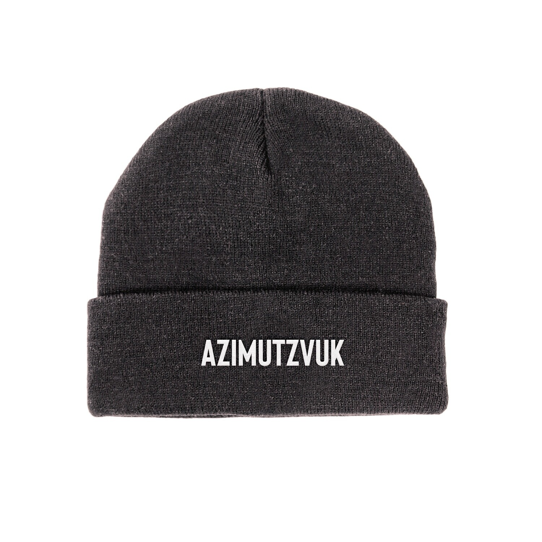 AZIMUTZVUK ШАПКА - ЧЕРНЫЙ ГРАФИТ