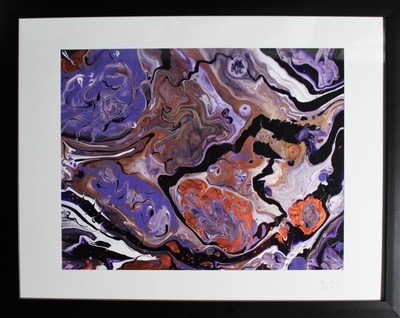 16X20 ORIGINAL ABSTRACT PAINTING: