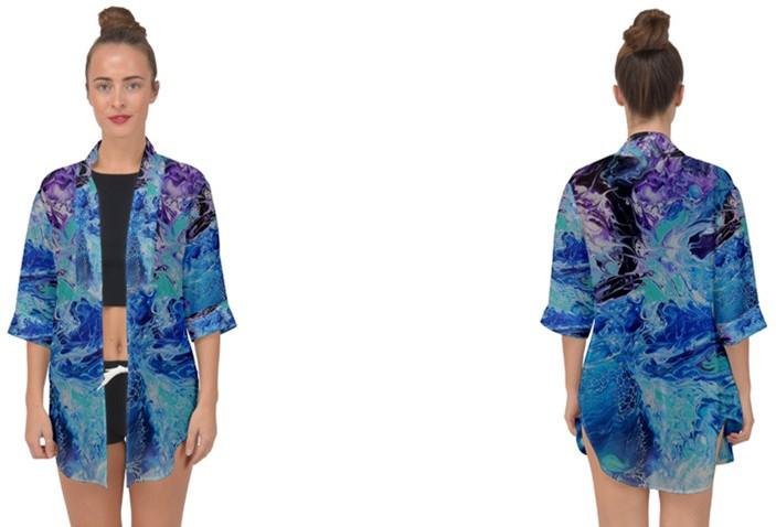 Chiffon Kimono Cover Up