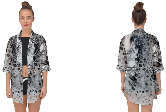Chiffon Kimono - Open Front